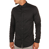 /achat-chemises-manches-longues/only-and-sons-chemise-manches-longues-alfredo-noir-107948.html
