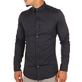 /achat-chemises-manches-longues/only-and-sons-chemise-manches-longues-alfredo-bleu-marine-107950.html