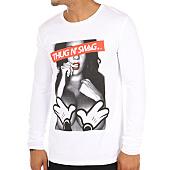 /achat-t-shirts-manches-longues/thug-n-swag-tee-shirt-manches-longues-girl-blanc-108718.html