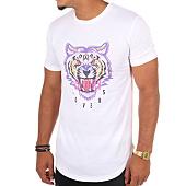 /achat-t-shirts-longs-oversize/luxury-lovers-tee-shirt-oversize-tiger-blanc-108925.html