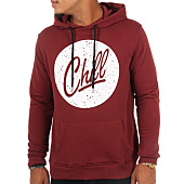 /achat-sweats-capuche/luxury-lovers-sweat-capuche-poche-circle-chill-speckle-bordeaux-109141.html
