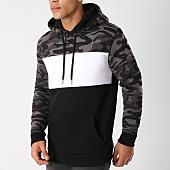 /achat-sweats-capuche/lbo-sweat-capuche-285-noir-blanc-camouflage-110102.html