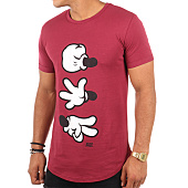 /achat-t-shirts-longs-oversize/thug-n-swag-tee-shirt-oversize-game-bordeaux-110341.html
