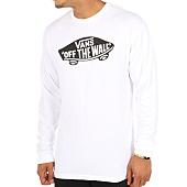/achat-t-shirts-manches-longues/vans-tee-shirt-manches-longues-otw-blanc-111144.html