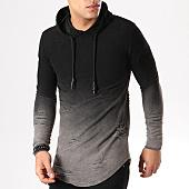 /achat-sweats-capuche/john-h-sweat-capuche-oversize-s09193-noir-degrade-gris-anthracite-87456.html