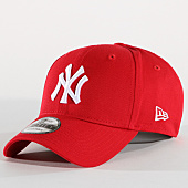 /achat-casquettes-de-baseball/new-era-casquette-9forty-league-basic-new-york-yankees-rouge-blanc-70472.html