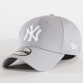 /achat-casquettes-de-baseball/new-era-casquette-baseball-9forty-league-basic-new-york-yankees-gris-blanc-70474.html