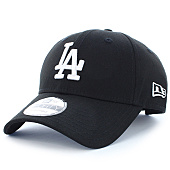 /achat-casquettes-de-baseball/new-era-casquette-league-essential-9forty-los-angeles-dodgers-noir-blanc-93566.html
