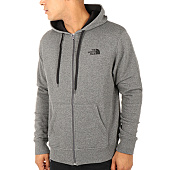 /achat-sweats-zippes-capuche/the-north-face-sweat-zippe-capuche-open-gate-gris-anthracite-chine-112618.html