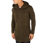/achat-cardigans-gilets/ikao-cardigan-capuche-zippe-f3460-vert-kaki-112772.html