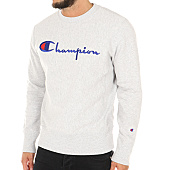 /achat-sweats-col-rond-crewneck/champion-sweat-crewneck-210975-gris-chine-113392.html