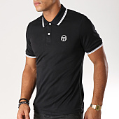 /achat-polos-manches-courtes/sergio-tacchini-polo-manches-courtes-reed-noir-114448.html