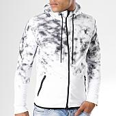 /achat-sweats-zippes-capuche/john-h-sweat-zippe-capuche-508-blanc-114860.html