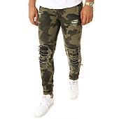 /achat-jeans/john-h-jean-slim-a250-vert-kaki-camouflage-114963.html