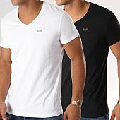 /achat-t-shirts/kaporal-lot-de-2-tee-shirts-gift-blanc-noir-114758.html