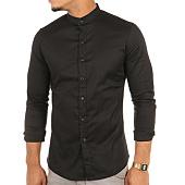 /achat-chemises-manches-longues/frilivin-chemise-manches-longues-9001-noir-115228.html