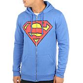 /achat-sweats-zippes-capuche/batman-sweat-zippe-capuche-logo-grunge-bleu-roi-116904.html