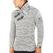 /achat-pulls/john-h-pull-5029-blanc-noir-chine-118304.html