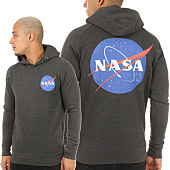 /achat-sweats-capuche/nasa-sweat-capuche-insignia-gris-anthracite-119689.html