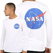 /achat-t-shirts-manches-longues/nasa-tee-shirt-manches-longues-insignia-blanc-119699.html