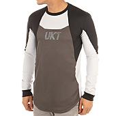 /achat-t-shirts-longs-oversize/unkut-tee-shirt-manches-longues-oversize-robot-gris-noir-119637.html