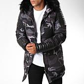 /achat-parkas/project-x-parka-fourrure-88175542-gris-camouflage-120217.html