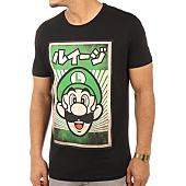 /achat-t-shirts/nintendo-tee-shirt-propaganda-poster-luigi-noir-120304.html