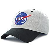 /achat-casquettes-de-baseball/nasa-casquette-insignia-gris-chine-noir-120570.html