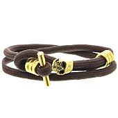 /achat-bracelets/california-jewels-bracelet-skull-marron-dore-120928.html