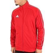 /achat-vestes/adidas-veste-zippee-core-18-pes-cv3565-rouge-123266.html