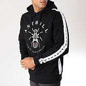 /achat-sweats-capuche/anthill-sweat-capuche-bandes-brodees-tape-noir-123871.html
