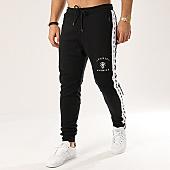 /achat-pantalons-joggings/anthill-pantalon-jogging-bandes-brodees-tape-noir-blanc-123874.html