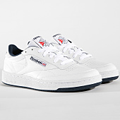 /achat-baskets-basses/reebok-baskets-club-85-ar0457-white-navy-123920.html