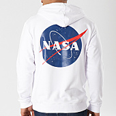 /achat-sweats-capuche/nasa-sweat-capuche-insignia-blanc-124513.html