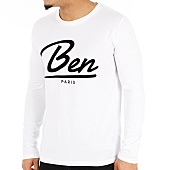 /achat-t-shirts-manches-longues/or-tee-shirt-manches-longues-new-ben-blanc-124825.html