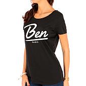 /achat-t-shirts/or-tee-shirt-femme-new-ben-noir-124827.html