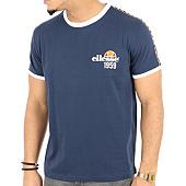 /achat-t-shirts/ellesse-tee-shirt-bande-bleu-marine-125120.html