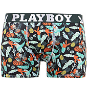 /achat-boxers/playboy-boxer-fruit-tropical-vert-kaki-noir-125171.html