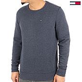 /achat-sweats-col-rond-crewneck/tommy-hilfiger-jeans-sweat-crewneck-original-4399-bleu-marine-chine-125133.html