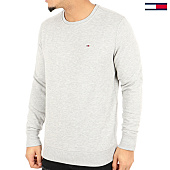 /achat-sweats-col-rond-crewneck/tommy-hilfiger-jeans-sweat-crewneck-original-4399-gris-chine-125134.html