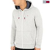 /achat-sweats-zippes-capuche/tommy-hilfiger-jeans-sweat-zippe-capuche-original-zip-4400-gris-chine-125136.html