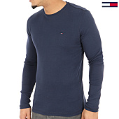 /achat-t-shirts-manches-longues/tommy-hilfiger-jeans-tee-shirt-manches-longues-original-4409-bleu-marine-125137.html
