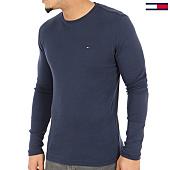 /achat-t-shirts-manches-longues/tommy-hilfiger-jeans-tee-shirt-manches-longues-original-4409-bleu-marine-125137.html