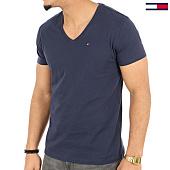 /achat-t-shirts/tommy-hilfiger-jeans-tee-shirt-original-jersey-4410-bleu-marine-125142.html