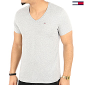 /achat-t-shirts/tommy-hilfiger-jeans-tee-shirt-original-jersey-4410-gris-chine-125145.html