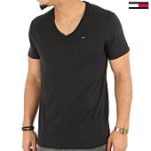 /achat-t-shirts/tommy-hilfiger-tee-shirt-original-jersey-4410-noir-125149.html
