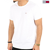 /achat-t-shirts/tommy-hilfiger-jeans-tee-shirt-original-4411-blanc-125159.html