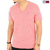 /achat-t-shirts/tommy-hilfiger-jeans-tee-shirt-original-triblend-4412-rouge-chine-125163.html