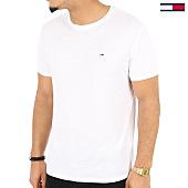 /achat-t-shirts/tommy-hilfiger-jeans-tee-shirt-original-triblend-4413-blanc-125166.html
