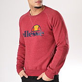/achat-sweats-col-rond-crewneck/ellesse-sweat-crewneck-sws-bordeaux-126302.html